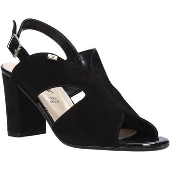 Παπούτσια Γυναίκα Σανδάλια / Πέδιλα Valleverde 38564 Μαύρος