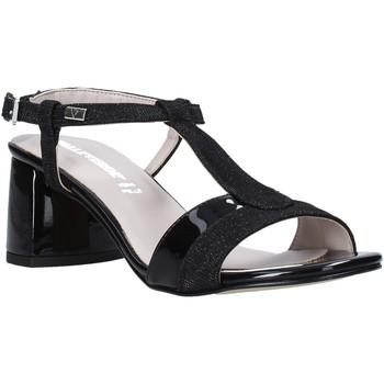 Παπούτσια Γυναίκα Σανδάλια / Πέδιλα Valleverde 45145 Μαύρος