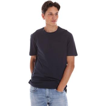 Υφασμάτινα Άνδρας T-shirt με κοντά μανίκια Ciesse Piumini 215CPMT01455 C2410X Μαύρος