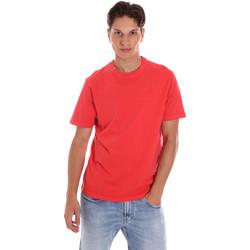 Υφασμάτινα Άνδρας T-shirt με κοντά μανίκια Ciesse Piumini 215CPMT01455 C2410X το κόκκινο
