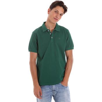 Υφασμάτινα Άνδρας Πόλο με κοντά μανίκια  Ciesse Piumini 215CPMT21454 C0530X Πράσινος