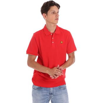 Υφασμάτινα Άνδρας Πόλο με κοντά μανίκια  Ciesse Piumini 215CPMT21424 C0530X το κόκκινο