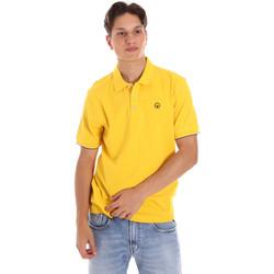 Υφασμάτινα Άνδρας Πόλο με κοντά μανίκια  Ciesse Piumini 215CPMT21424 C0530X Κίτρινος