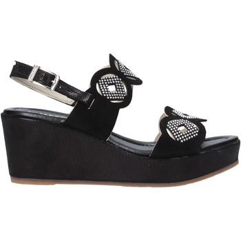 Παπούτσια Γυναίκα Σανδάλια / Πέδιλα Valleverde 32214 Μαύρος