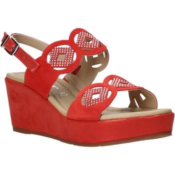 Παπούτσια Γυναίκα Σανδάλια / Πέδιλα Valleverde 32214 το κόκκινο