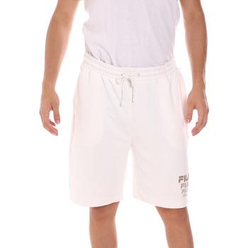 Υφασμάτινα Άνδρας Σόρτς / Βερμούδες Fila 689287 λευκό