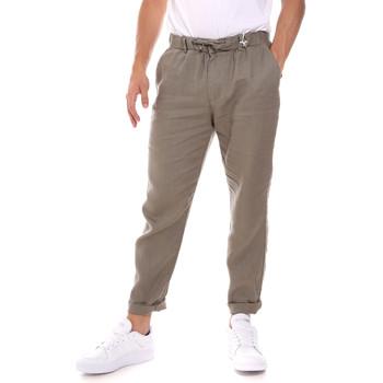 Υφασμάτινα Άνδρας Παντελόνια Sseinse PSE736SS Μπεζ