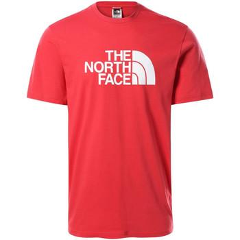 Υφασμάτινα Άνδρας T-shirt με κοντά μανίκια The North Face NF0A2TX3V341 το κόκκινο