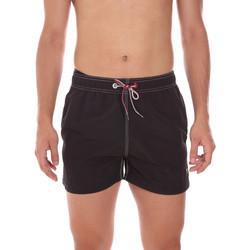 Υφασμάτινα Άνδρας Μαγιώ / shorts για την παραλία Key Up 298XM 0001 Μαύρος