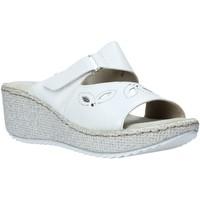 Παπούτσια Γυναίκα Τσόκαρα Valleverde 20221 λευκό