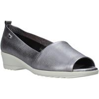 Παπούτσια Γυναίκα Μοκασσίνια Valleverde 41141 Γκρί