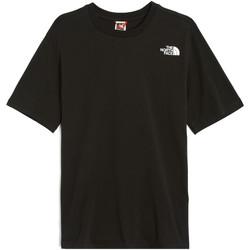 Υφασμάτινα Γυναίκα T-shirt με κοντά μανίκια The North Face NF0A4M5QJK31 Μαύρος