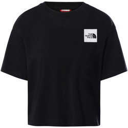 Υφασμάτινα Γυναίκα T-shirt με κοντά μανίκια The North Face NF0A4SY9 Μαύρος
