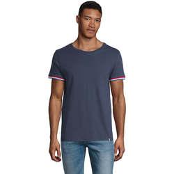 Υφασμάτινα Άνδρας T-shirt με κοντά μανίκια Sols CAMISETA MANGA CORTA RAINBOW Azul