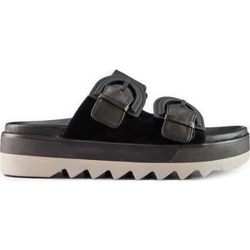 Παπούτσια Γυναίκα Τσόκαρα Cougar Pepa Suede Leather  Μαύρος