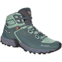 Παπούτσια Γυναίκα Πεζοπορίας Salewa WS Alpenrose 2 Mid GTX 61374-8540 green