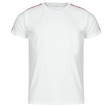 Υφασμάτινα Άνδρας T-shirt με κοντά μανίκια Yurban  Άσπρο