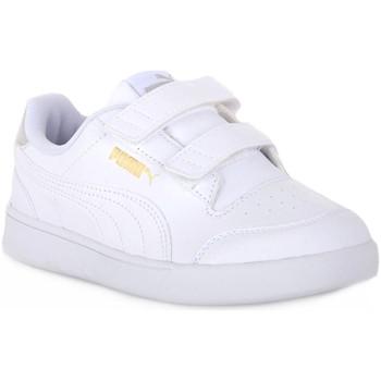 Παπούτσια Αγόρι Χαμηλά Sneakers Puma 01 SHUFFLE V PS Bianco