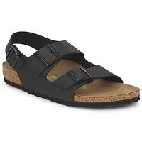 Παπούτσια Άνδρας Σανδάλια / Πέδιλα Birkenstock MILANO Black