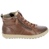 Παπούτσια Γυναίκα Ψηλά Sneakers Jana Boots 25202 Cognac Brown