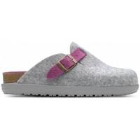 Παπούτσια Γυναίκα Παντόφλες Feliz Caminar Zueco de Hogar DOMUS Grey