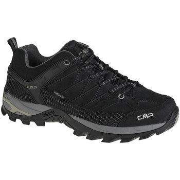 Παπούτσια Άνδρας Πεζοπορίας Cmp Rigel Low Noir