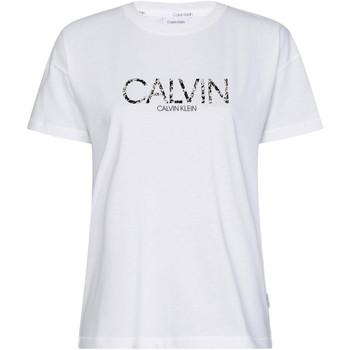 Υφασμάτινα Γυναίκα T-shirt με κοντά μανίκια Calvin Klein Jeans K20K201861 λευκό