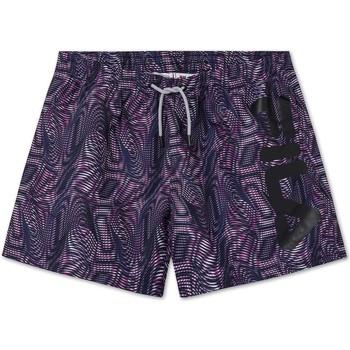 Υφασμάτινα Άνδρας Μαγιώ / shorts για την παραλία Fila 688590 Βιολέτα