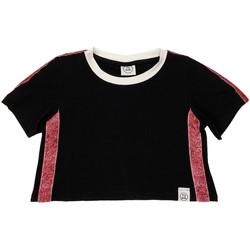 Υφασμάτινα Παιδί T-shirt με κοντά μανίκια Naturino 6000719 01 Μαύρος