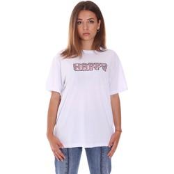 Υφασμάτινα Γυναίκα T-shirt με κοντά μανίκια Naturino 6001026 01 λευκό