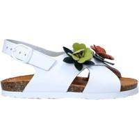 Παπούτσια Κορίτσι Σανδάλια / Πέδιλα Bionatura 22B 1047 λευκό