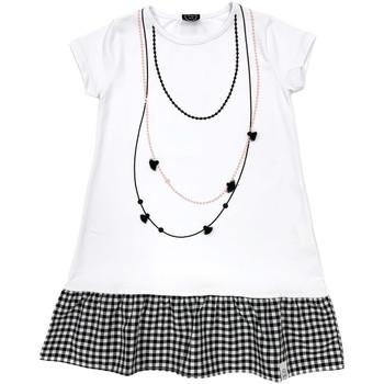 Υφασμάτινα Κορίτσι Κοντά Φορέματα Naturino 6000724 01 λευκό