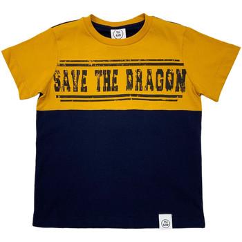 Υφασμάτινα Παιδί T-shirt με κοντά μανίκια Naturino 6001018 01 Μπλε
