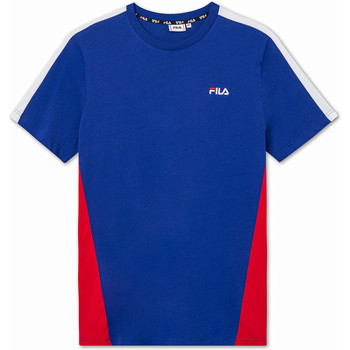 Υφασμάτινα Παιδί T-shirt με κοντά μανίκια Fila 688749 Μπλε