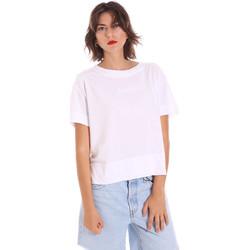 Υφασμάτινα Γυναίκα T-shirt με κοντά μανίκια Invicta 4451248/D λευκό