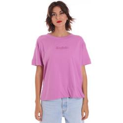 Υφασμάτινα Γυναίκα T-shirt με κοντά μανίκια Invicta 4451248/D Ροζ