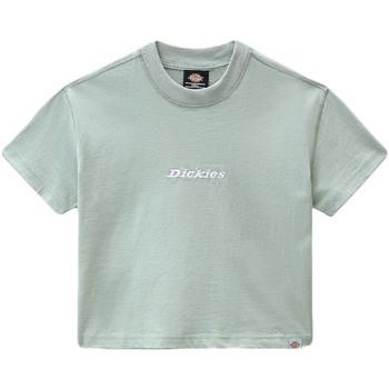 Υφασμάτινα Γυναίκα T-shirt με κοντά μανίκια Dickies DK0A4XBAB871 Πράσινος