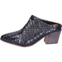 Παπούτσια Γυναίκα Σαμπό Moma BH772 Μαύρος