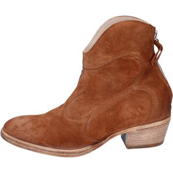 Παπούτσια Γυναίκα Μποτίνια Moma BH809 καφέ