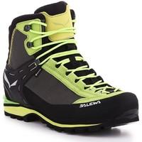 Παπούτσια Άνδρας Πεζοπορίας Salewa Ms Crow GTX 61328-5320 black, green
