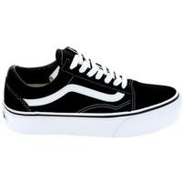 Παπούτσια Χαμηλά Sneakers Vans Old Skool Plateform Noir Blanc Black