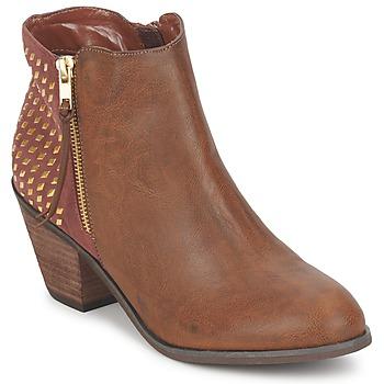 Παπούτσια Γυναίκα Μποτίνια Blink MARA CAMEL