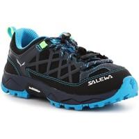 Παπούτσια Παιδί Πεζοπορίας Salewa Jr Wildfire 64007-3847 blue, navy