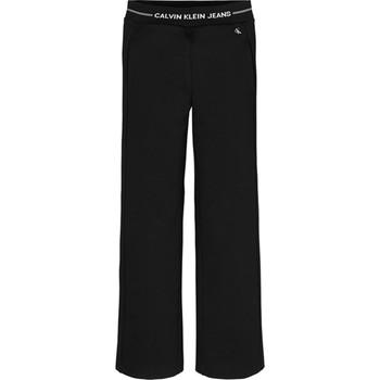 Υφασμάτινα Κορίτσι Παντελόνες / σαλβάρια Calvin Klein Jeans IG0IG01002 Nero
