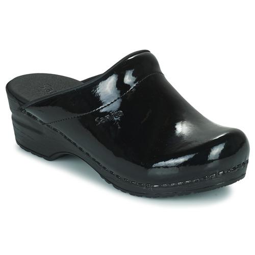 Παπούτσια Γυναίκα Σαμπό Sanita SONJA OPEN Black