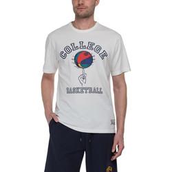 Υφασμάτινα Άνδρας T-shirt με κοντά μανίκια Franklin & Marshall T-shirt Franklin & Marshall Classique gris