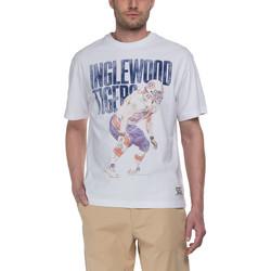 Υφασμάτινα Άνδρας T-shirt με κοντά μανίκια Franklin & Marshall T-shirt Franklin & Marshall Classique blanc