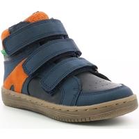 Παπούτσια Αγόρι Χαμηλά Sneakers Kickers Chaussures enfant  Lohan marine/orange
