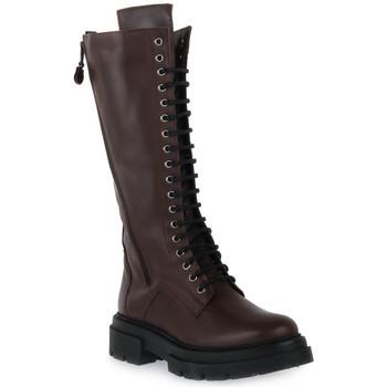 Παπούτσια Γυναίκα Μπότες για την πόλη Priv Lab A61 VIT MORO Marrone