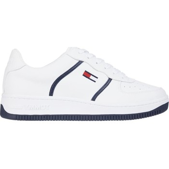Xαμηλά Sneakers Tommy Jeans Rwb Basket Cupsole White